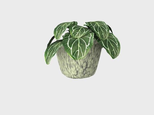 3d flowerpot model