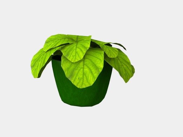 flowerpot 3d dxf