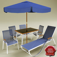 Garden furniture collection