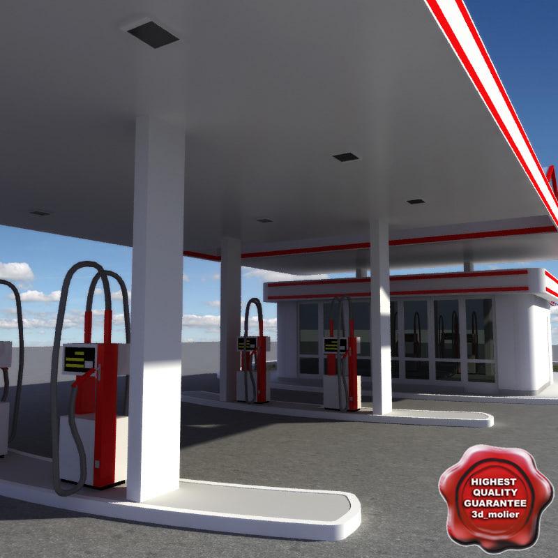 3ds gas station v11