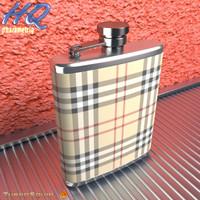 hip flask 03 3d model