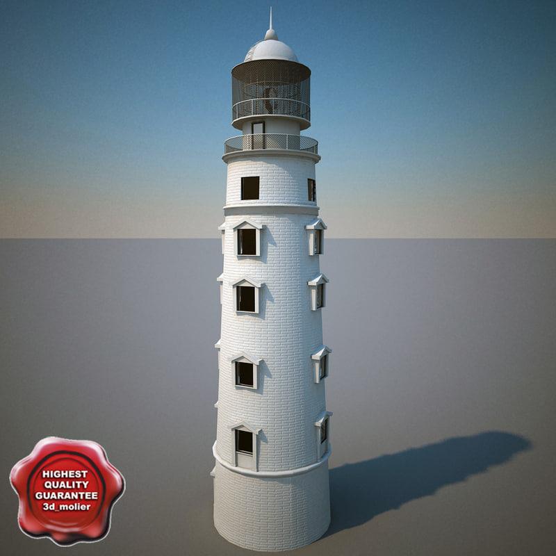 3d model lighthouse v2