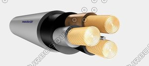 3d power cable 3x95mm