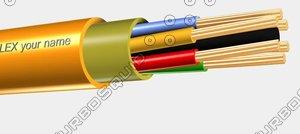 3d power cable tl flex