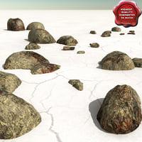 3d model stones v4