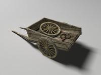 maya medieval horse cart