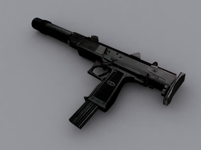 russian weapon 3d model