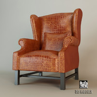 Provasi Leather Armchair