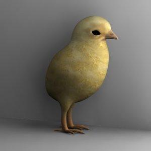 3d model chicken