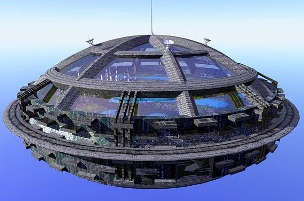 ark sky 3d model