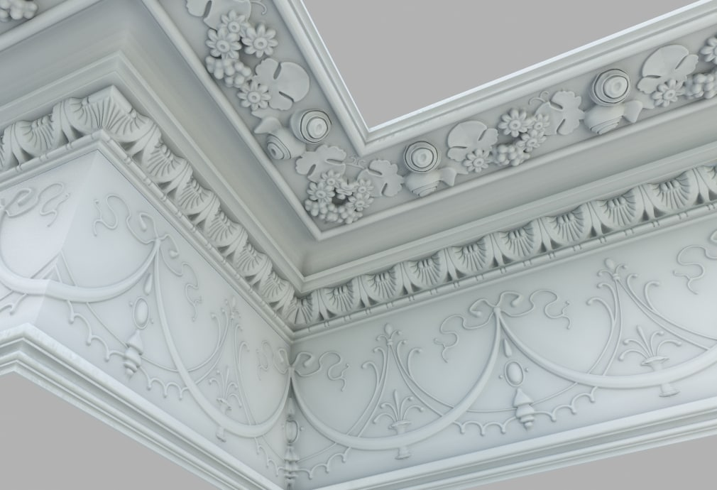 3ds max ceiling pack wall