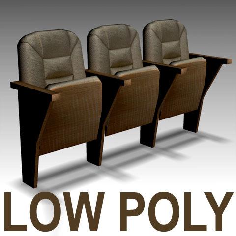 3d theatre seat