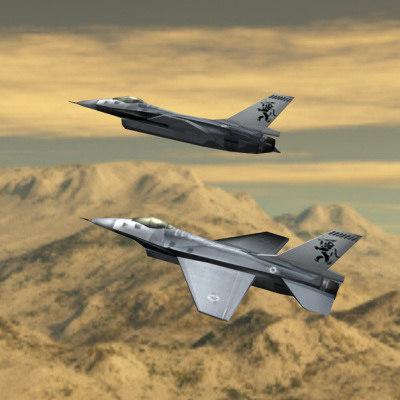 3ds f-16 fighting falcon
