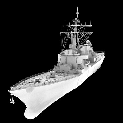 3d ddg battleship