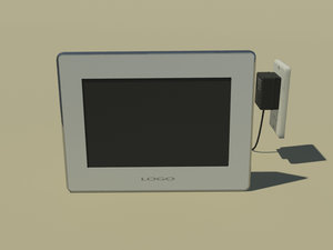 3ds max digital picture frame