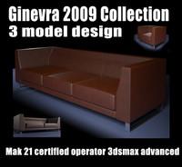 design 2009 ginevra sofa max