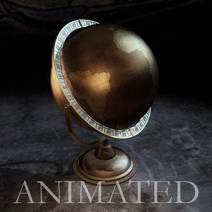 max old globe animation