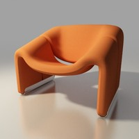 groovy lounge chair  f-598 by Pierre Paulin Artifort