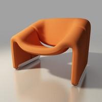 groovy lounge chair  f-598 by Pierre Paulin Artifort