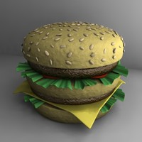 3ds hamburger ham