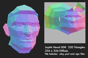 3d model head sdk