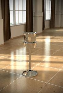 icing bucket 3d model