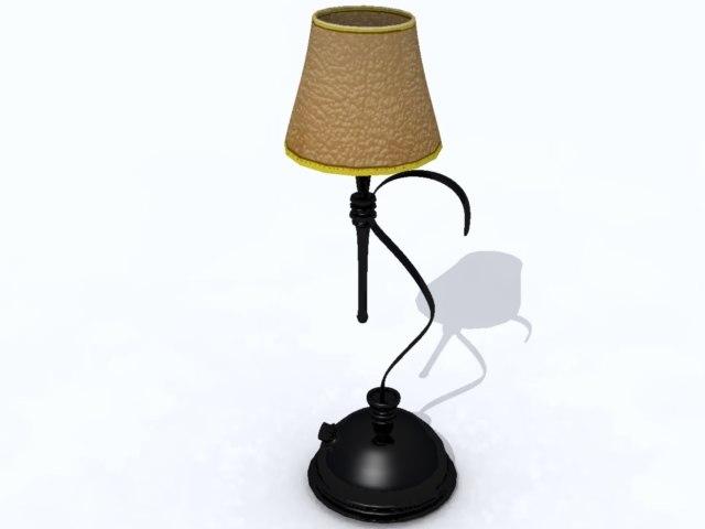 lamp 3d 3ds