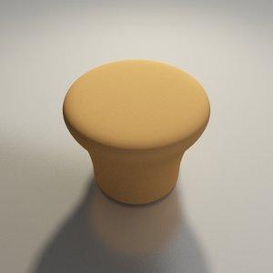 3d model artifort chair design pierre paulin