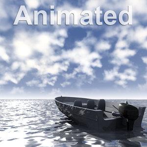 3d model ocean scene