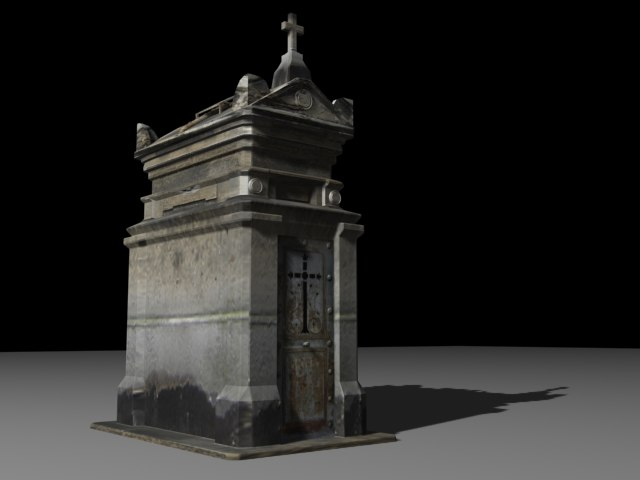 3d sepulture grave cemetery