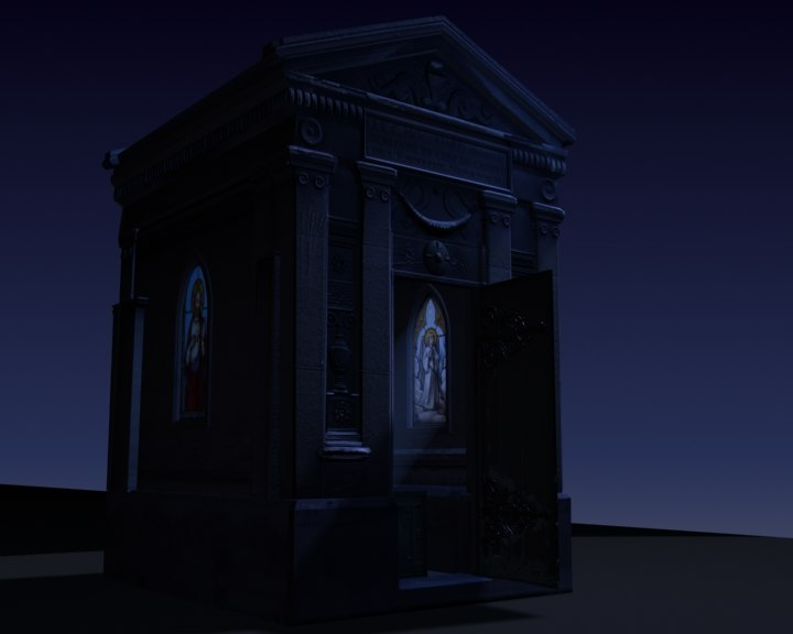 3d model of crypt
