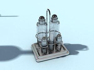 3ds recipient salt pepper oil