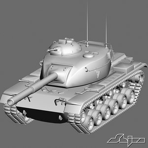 3ds max tank m60