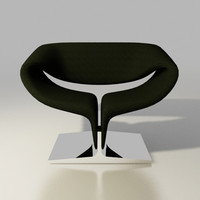 ribbon lounge chair F582 by Pierre Paulin Artifort