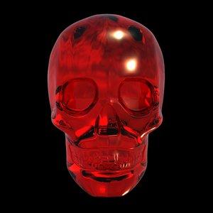 3d crystal skull