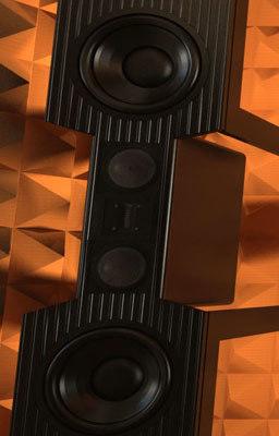 speaker drivers end 3d max