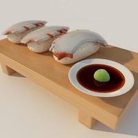 3ds max sushi