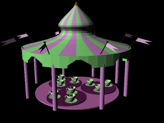 lightwave tea cups ride