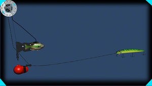 rigger fishing 3d model