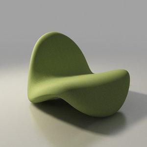 artifort chair design pierre paulin max
