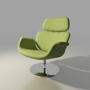 max artifort chair design tulip