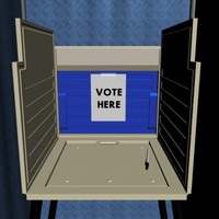 voting booth 3d 3ds