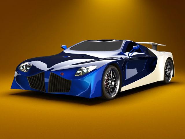 3d fastest car sportscar