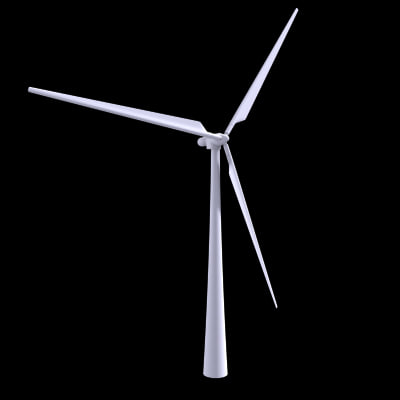 3ds max turbine wind