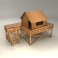 playhouse 3d model