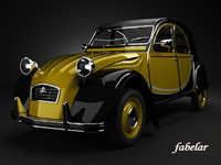 CITROEN 2CV yellow