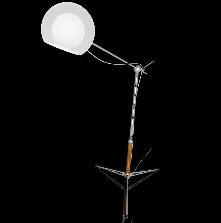 standard lamp 3d model