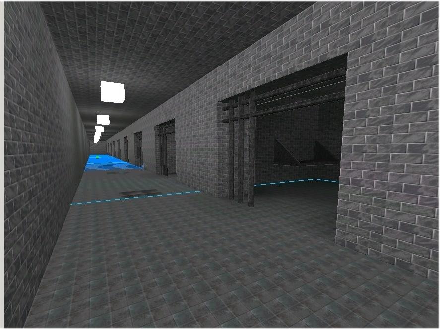 jail dungeon b3d 3d model