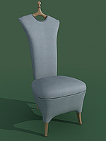 3d model ancella chair