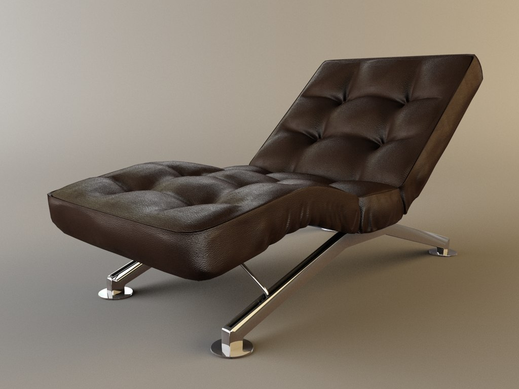 chaise-lounge interior 3d max